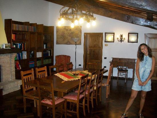 Country House Villacasabianca1573: sala lettura e relax