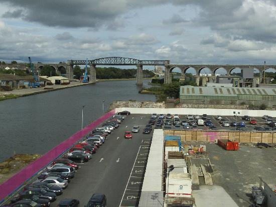 Drogheda, Ierland: View from my Room (Number 414)