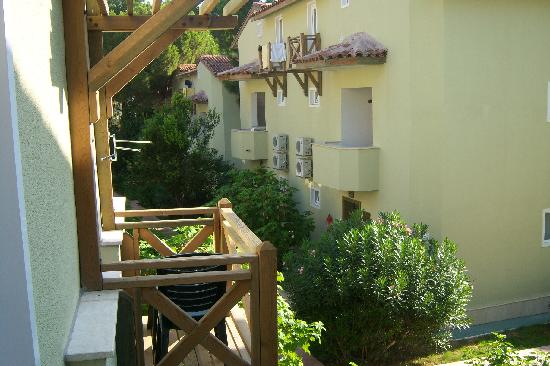 Comfort Flora Beach : vista dal balconcino