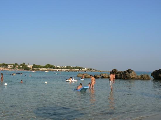 Gabbiano Hotel: Il mare.........