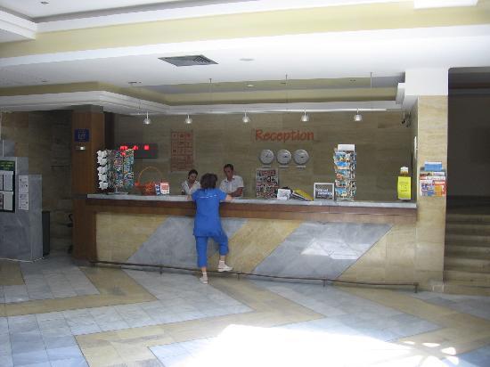 Hotel Kaliakra: Reception