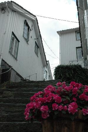 Norway: Mandal...mas y mas casitas blancas.