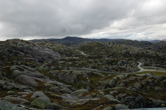 النرويج: Carretera de Sirdal a Lysebotn