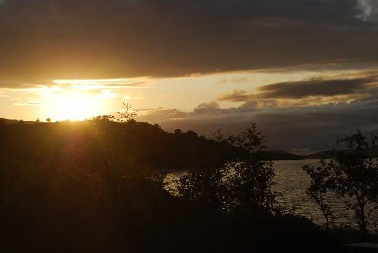 Sunset from Kinloch