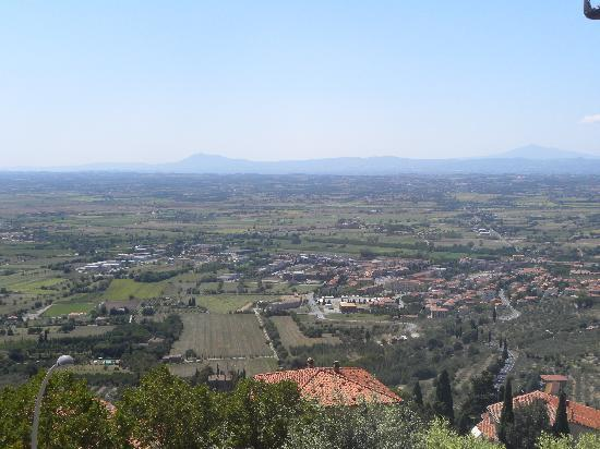 Villa Marsili: view from the room