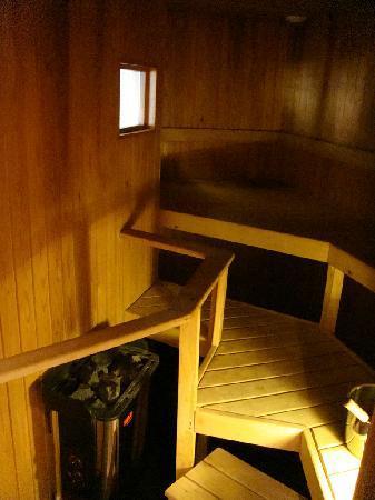 Hotel Helka: Private sauna room