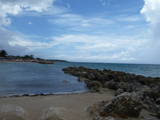 Runaway Bay, Jamaica: quiet end