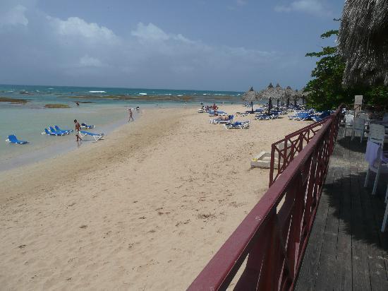 Grand Bahia Principe El Portillo: Looking east