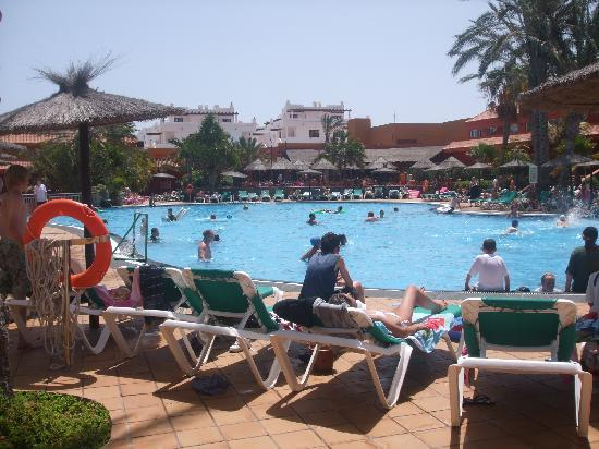 Oasis Village: one of the pools