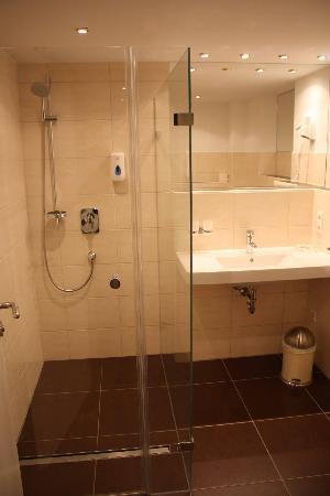 Hotel Schöngarten Garni: El baño