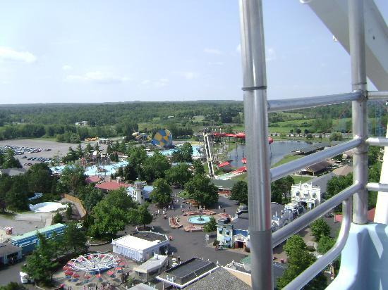 Darien Lake Amusment and Water Park Campground: from the big wheel
