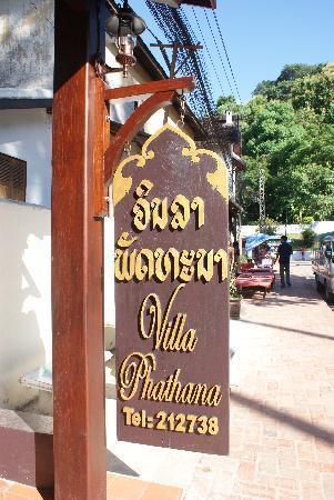 Villa Phathana: Eingang