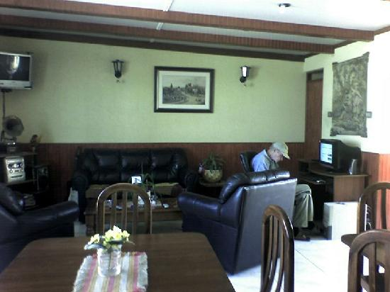 Hostal Colonial: taken from the dining room