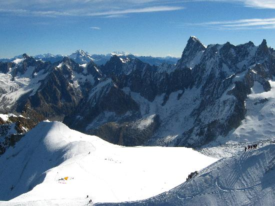 Aiguille du Midi: View from the top