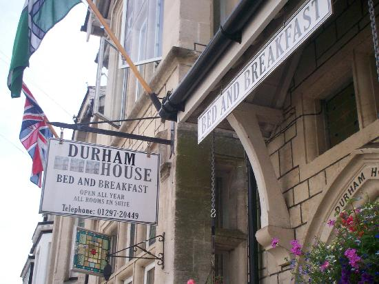 Exterior of Durham House - Beer
