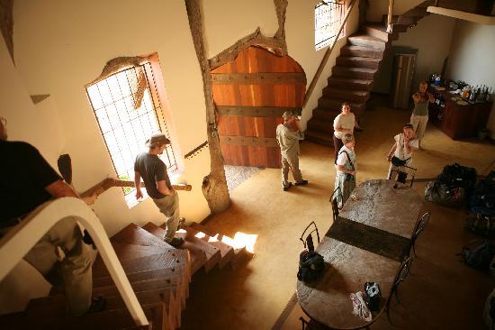 Luangwa Safari House: House interior