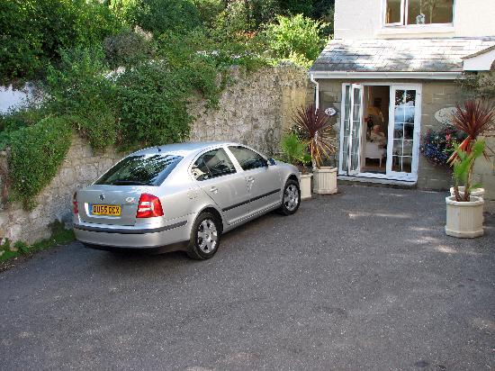 """The Leconfield: My car parked outside """"Coral Reef"""""""