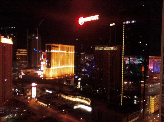 Signature at MGM Grand: our view from floor 29