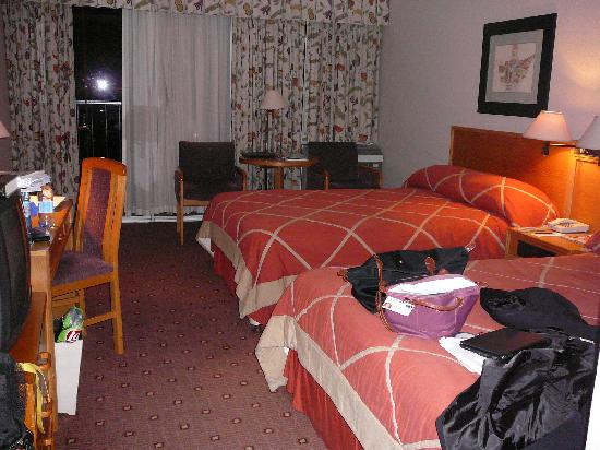 Maseru, Lesotho: My room - pretty average.