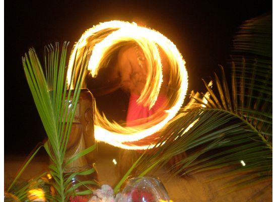 Four Seasons Resort Bora Bora: Four Seasons Dinner on the Beach