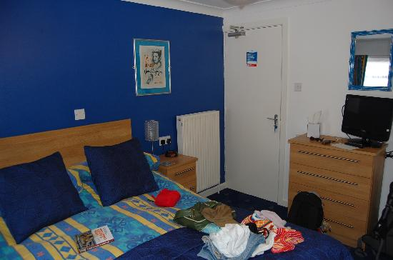 Blue Palms : cosy room