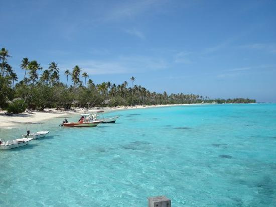 Sofitel Moorea Ia Ora Beach Resort: SPIAGGIA A NORD