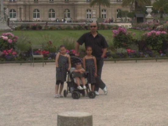 สวนลัคเซ็มเบิร์ก: Luxembourg Park in Paris, France