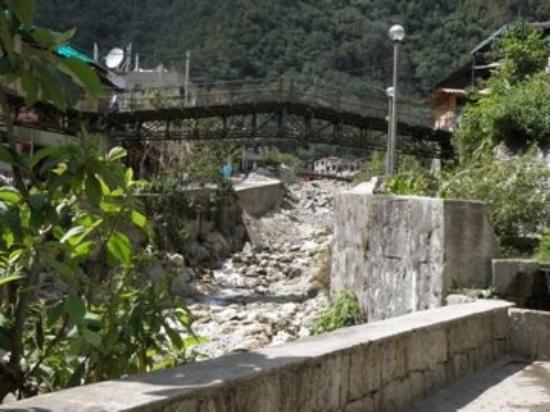 Hot Springs (Aguas Calientes): Aguas Calientes river