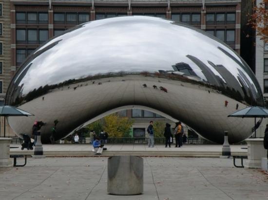 มิลเลนเนียมปาร์ค: Cloud Gate, Millennium Park, Chicago, IL, United States