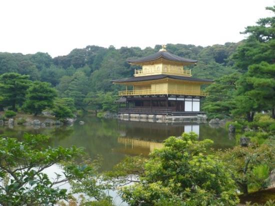 วัดคินคาคุจิ: 美極的金閣寺