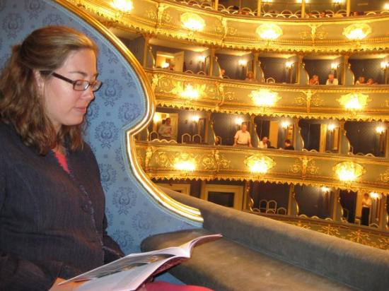 The Estates Theatre: Went to see Mozart's Don Giovanni in the theatre where it PREMIERED.