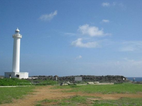 โอะกินะวะ, ญี่ปุ่น: 殘波岬的燈塔