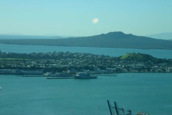 สกายทาวเวอร์: Auckland, New Zealand View from Sky Tower