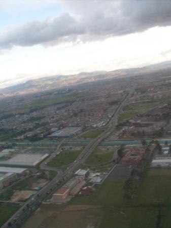 Villavicencio, โคลอมเบีย: Bogotá desde arriba.