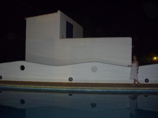 Ca Mari: piscina pequeña