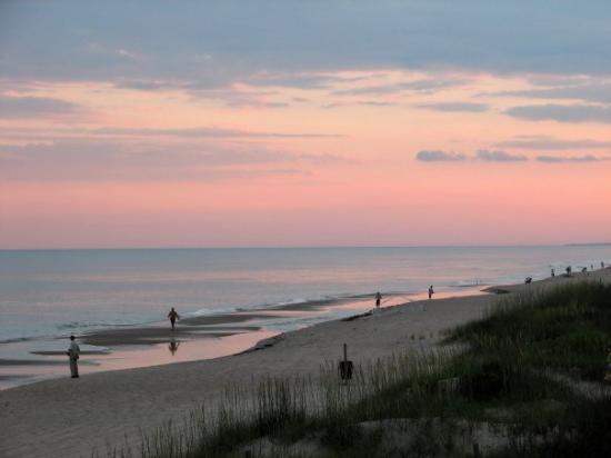 Sunset over Emerald Isle, NC, July 2009