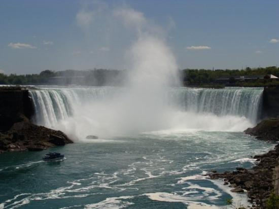 Bilde fra Niagarafallene