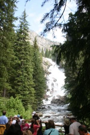 Grand Teton National Park, ไวโอมิง: Hidden Falls