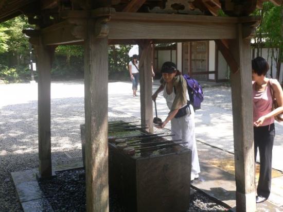 คามากุระ, ญี่ปุ่น: Eté 2007 - Kamakura Purification avant de rendre visite au Daï Butsu