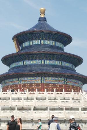 """หอเทียนถัน: SCB 2009 Day 3 - """"rest day"""" the Beijing city included four stops - this, the Temple of Heaven, w"""