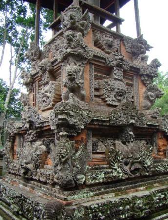 อูบุด, อินโดนีเซีย: im Affentenpel in Ubod ( Bali , Indonesia )
