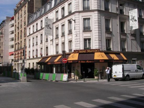 Lanton France  city pictures gallery : Unser Hotel Picture of France Eiffel Hotel, Paris TripAdvisor
