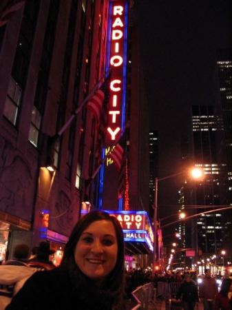 Radio City Music Hall: It's frickin' freezing out here!