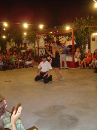 Heraklion, กรีซ: Awsome night of Crete music and food in the hills.