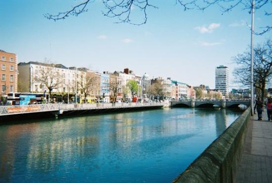 River Liffey and the infamous Bachelors Walk