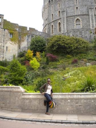 วินด์เซอร์, UK: The Round Tower at Windsor Castle