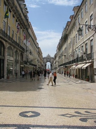 Cidade Baixa: Rua Augusta nella Baixa