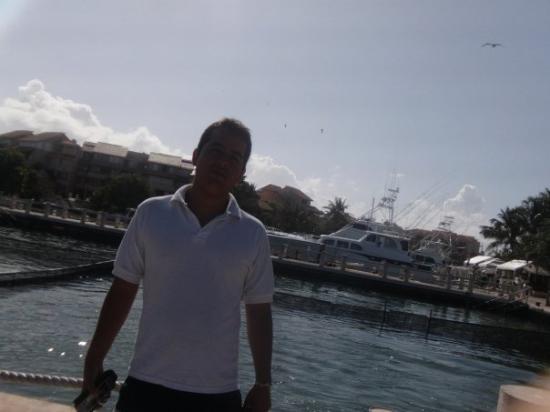 me in Puerto Aventuras