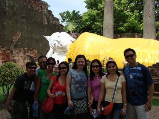 เมืองพระนครศรีอยุธยา, ไทย: @ wat yai chai mongkol - ayutthaya, thailand '09