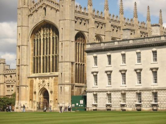 เคมบริดจ์, UK: Capilla de king College